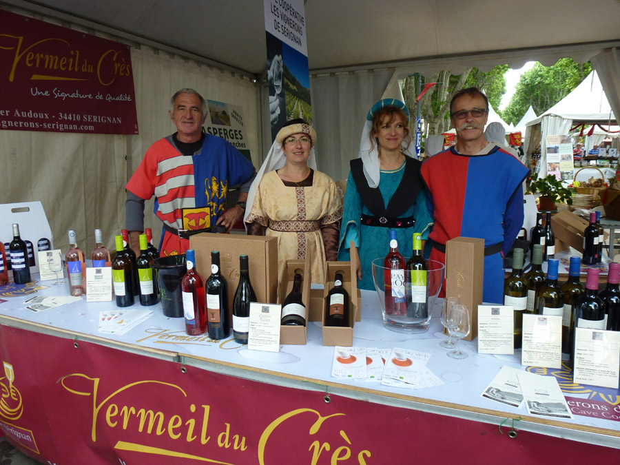 Les Vignerons de Sérignan aux Caritats de Béziers