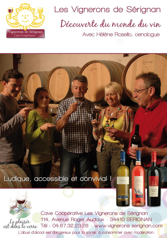 """""""Découverte du monde du vin"""" avec Hélène Rosello, oenologue"""