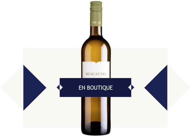 Muscat sec - les vignerons de Sérignan